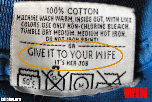 Laundry Instructions