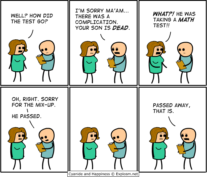 Cyanide and Happiness: My son